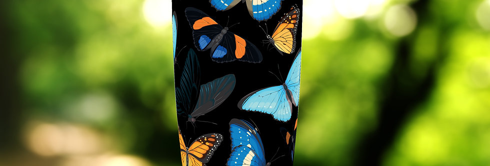 Dark Butterflies 20oz Tumbler