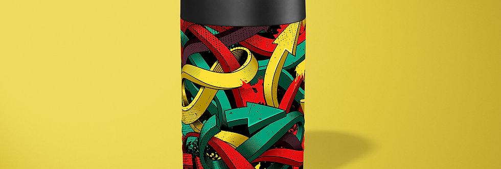 Graffiti Arrows Beer Can Holder