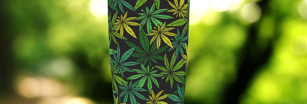 Green Cannabis 20oz Tumbler
