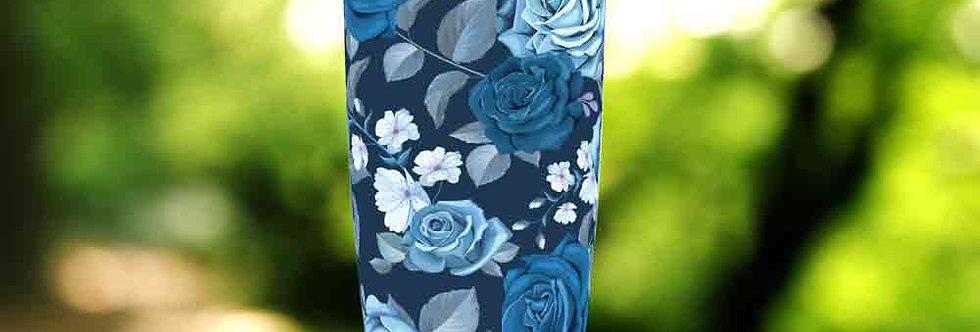 Blue Roses 20oz Tumbler