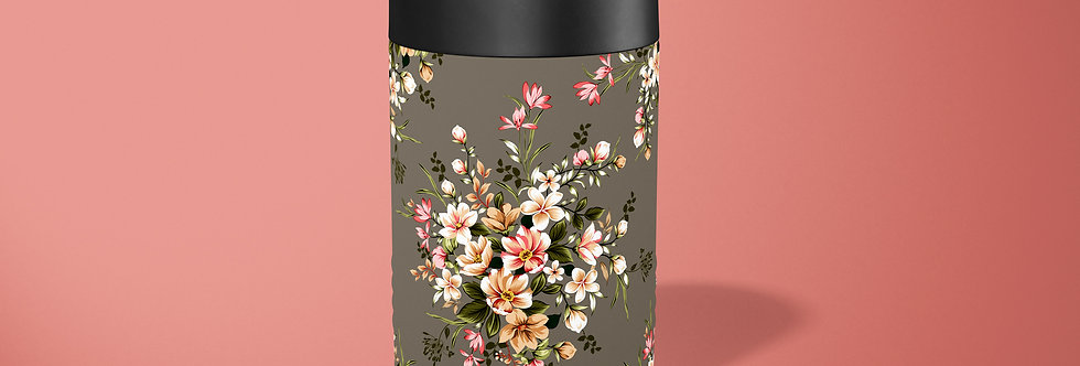 Floral Bouquet Beer Can Holder