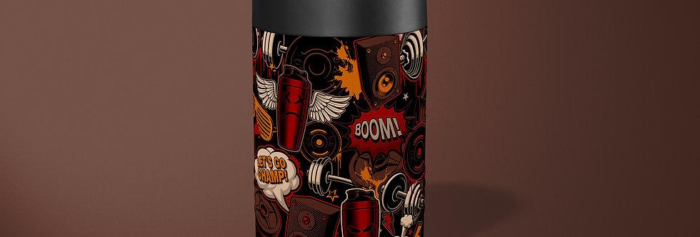 Graffiti II Beer Can Holder