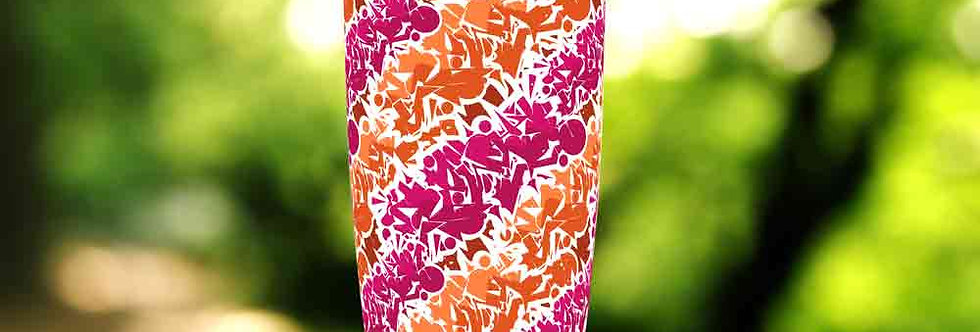 Graffiti Pink Tag 20oz Tumbler