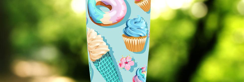Turquoise Cupcakes 20oz Tumbler