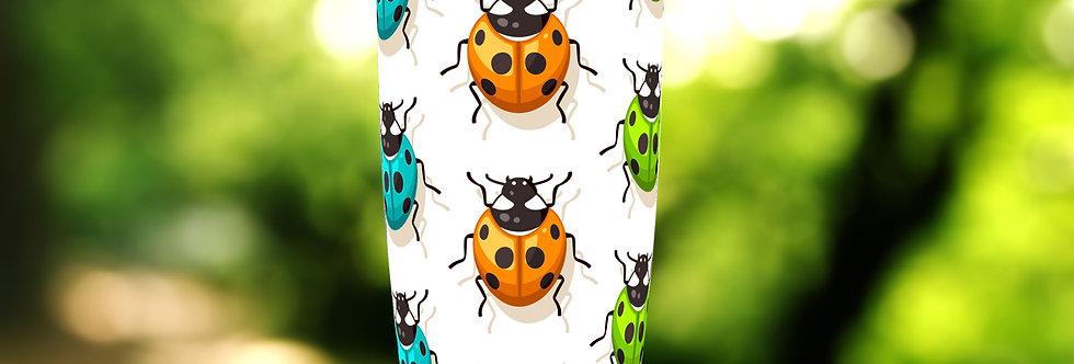 Multi-Color Ladybug 20oz Tumbler