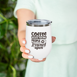 Coffee 12oz tumbler