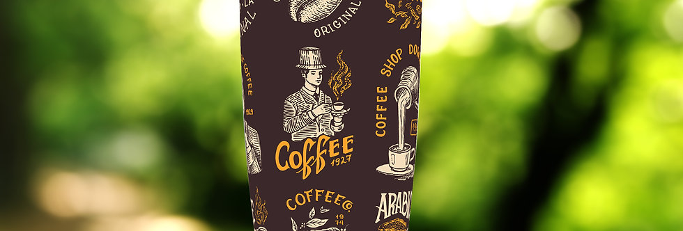Vintage Coffee 20oz Tumbler