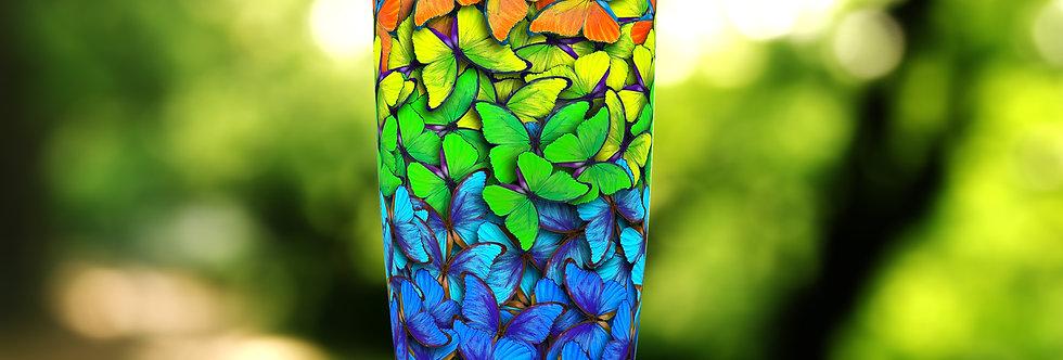 Rainbow Butterfly Hive 20oz Tumbler