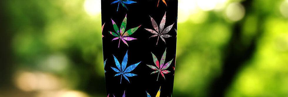 Multi-Color Cannabis 20oz Tumbler