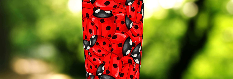 Red Ladybug Hive 20oz Tumbler