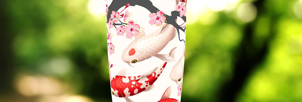 Koi Cherry Blossom 20oz Tumbler