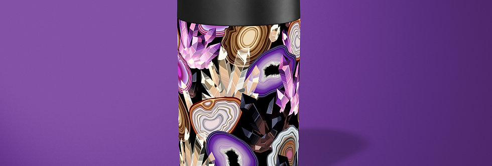 Purple Agate Beer Can Holder
