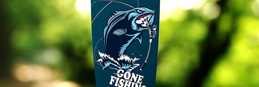 Gone Fishing 20oz Tumbler