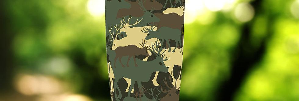 Camo Army Deer 20oz Tumbler
