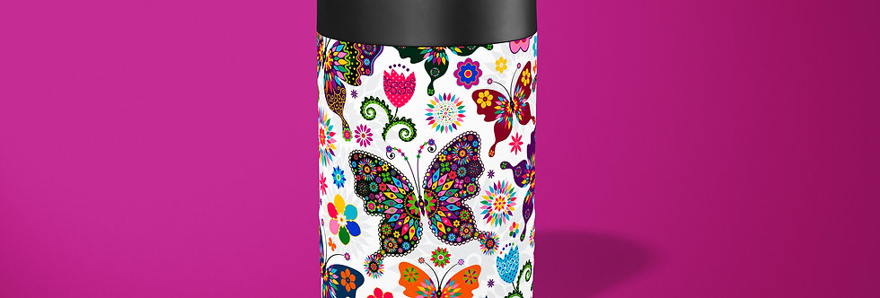 Hippie Butterfly Beer Can Holder