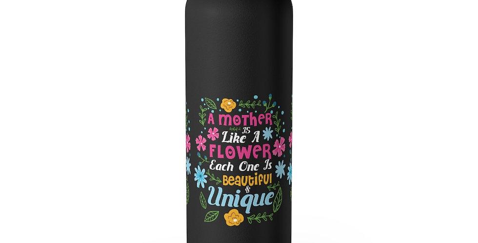 Flower Mom 22oz Insulated Tumbler