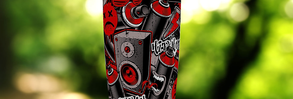 Graffiti Red Collage Can 20oz Tumbler