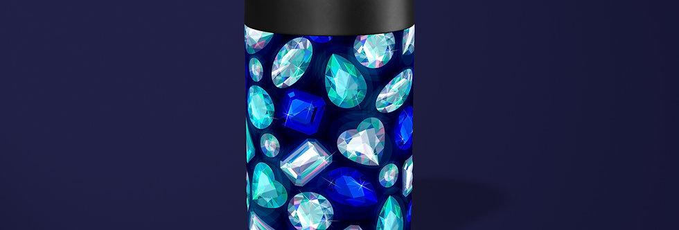 Blue Gems Beer Can Holder
