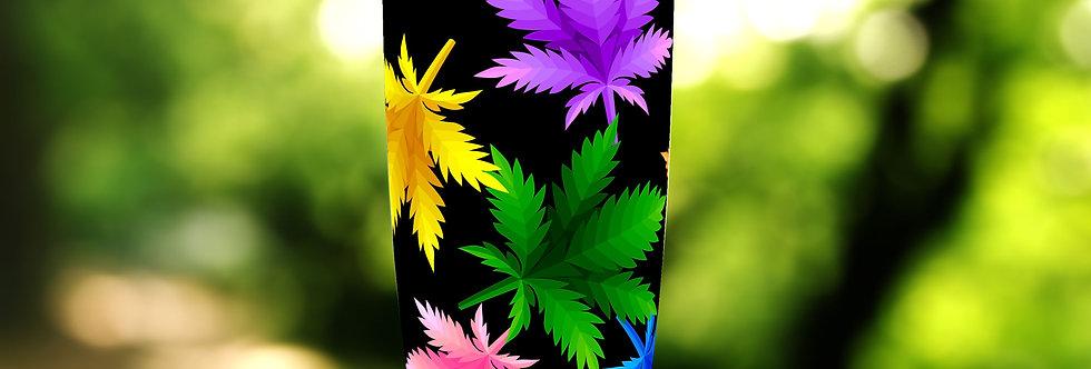 Abstract Cannabis 20oz Tumbler