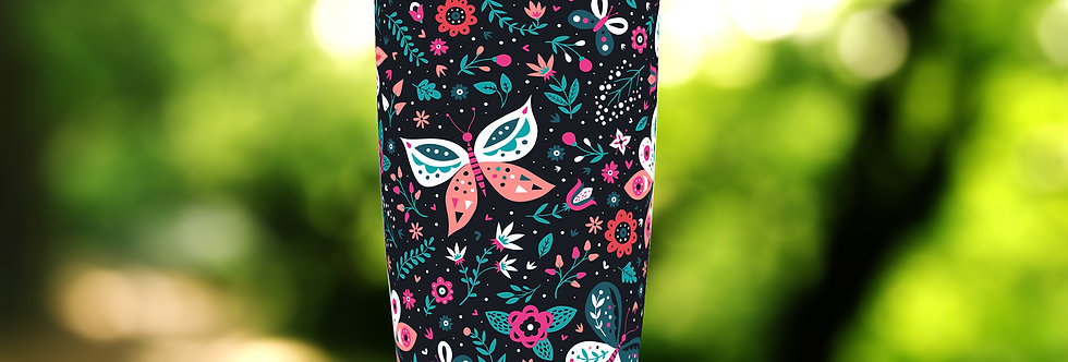 Butterfly Floral 20oz Tumbler