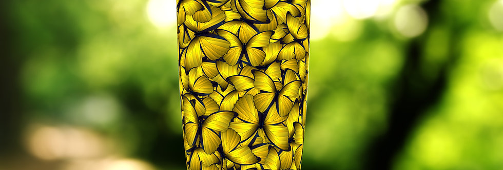 Gold Butterfly Hive 20oz Tumbler