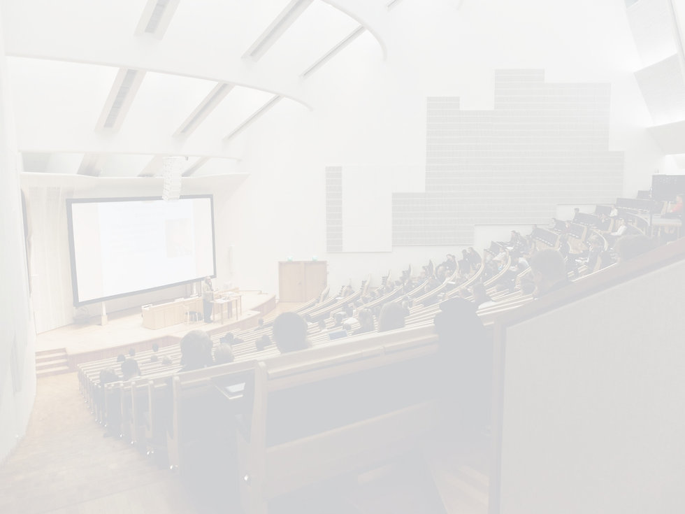 college classroom, lecture hall