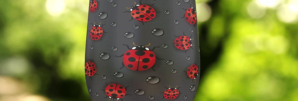 Ladybug Drops II 12oz Stainless Steel Tumbler
