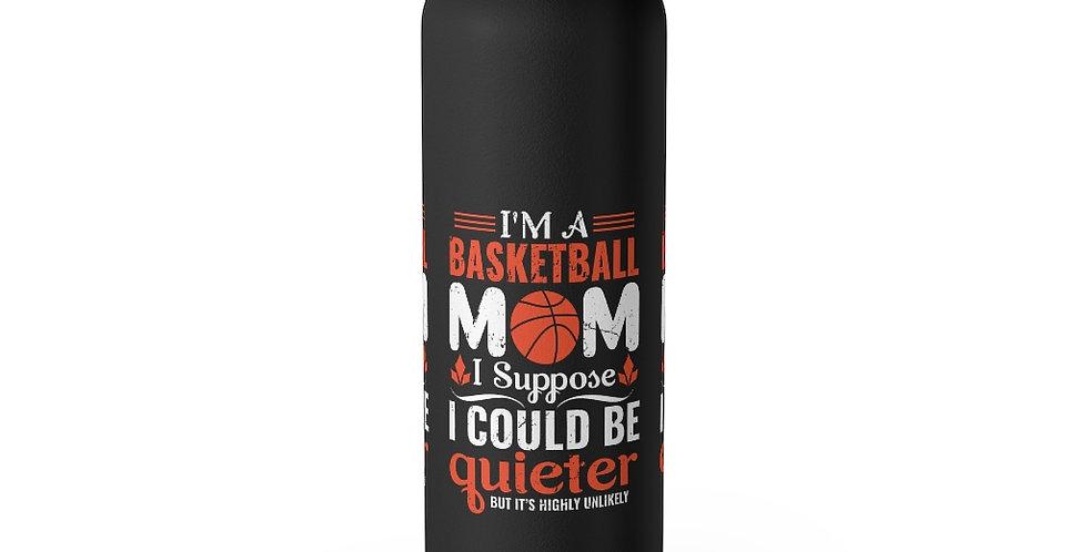 Basketball Mom 22oz Insulated Tumbler