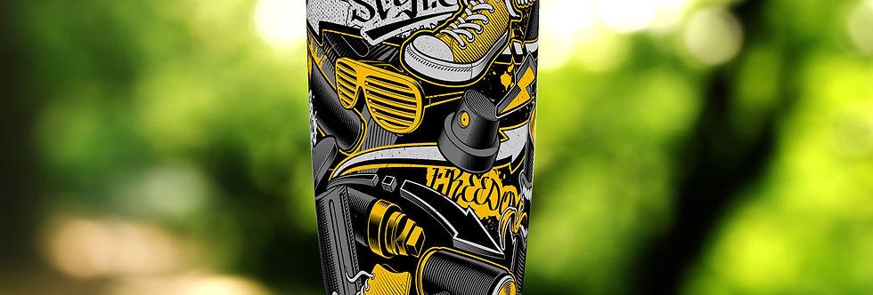 Graffiti Yellow Collage Can 20oz Tumbler