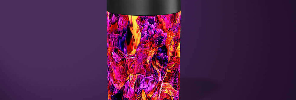 Fire Abstract Beer Can Holder