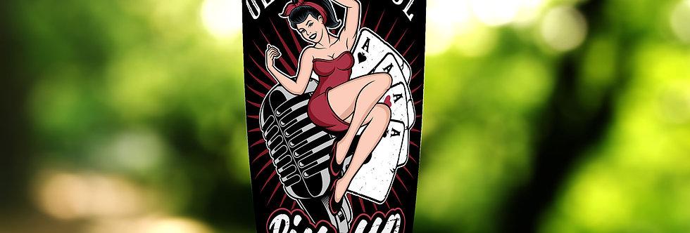 Rockabilly Pin-Up Girl 20oz Tumbler