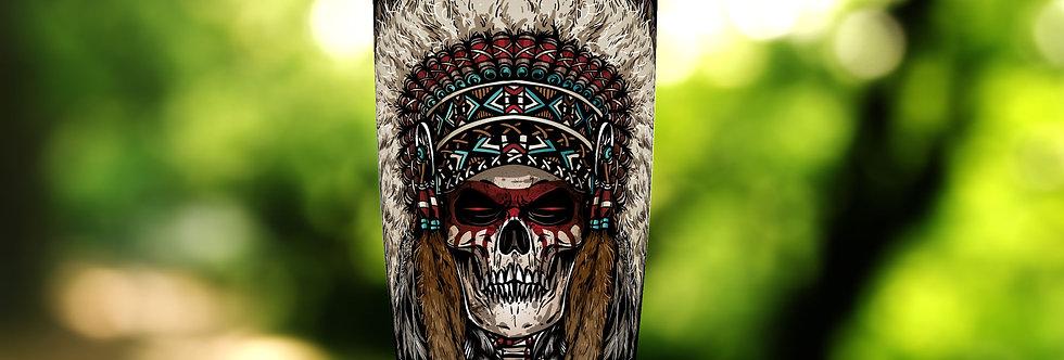 Indian Chief Warrior 20oz Tumbler