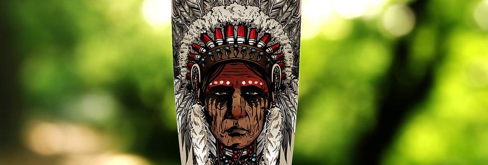 Native Indian Elder 20oz Tumbler