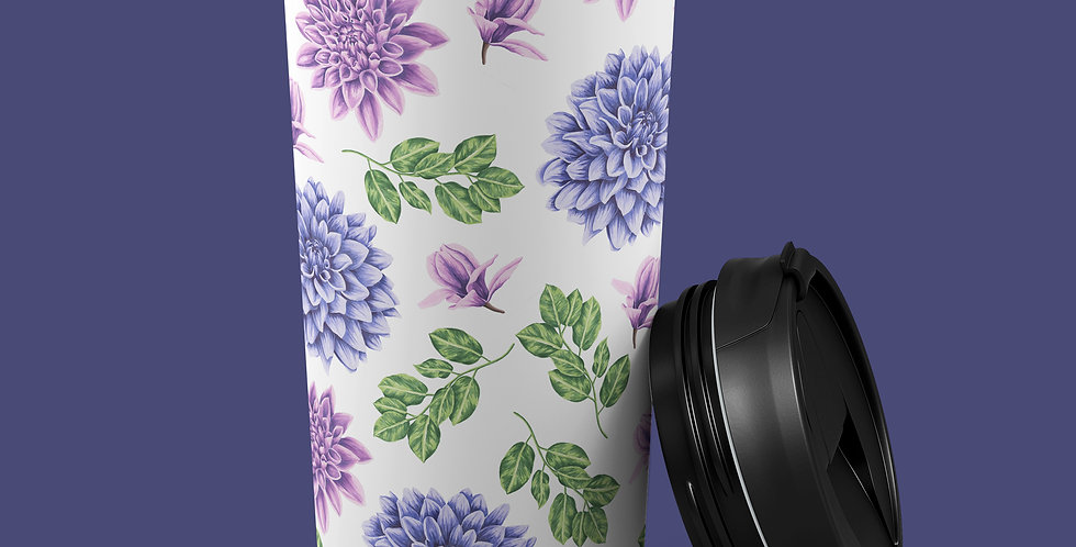 Succulent 15oz Stainless Steel Tumbler