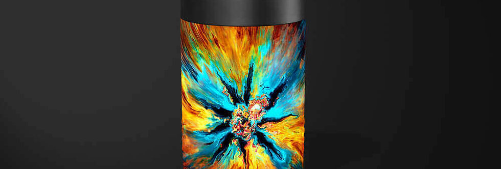 Yellowstone Abstract Beer Can Holder