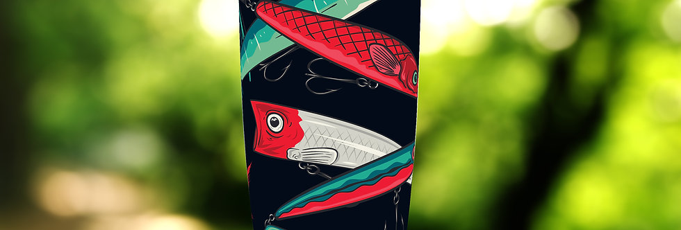 Fish Lures 20oz Tumbler