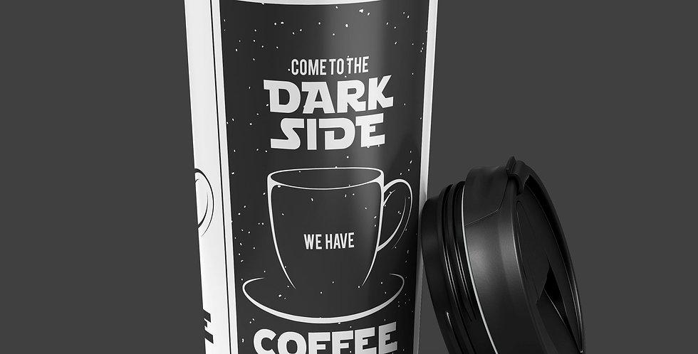 Coffee Dark Side 15oz Stainless Steel Tumbler