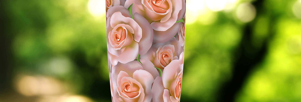 Peach Rose Bushel 20oz Tumbler