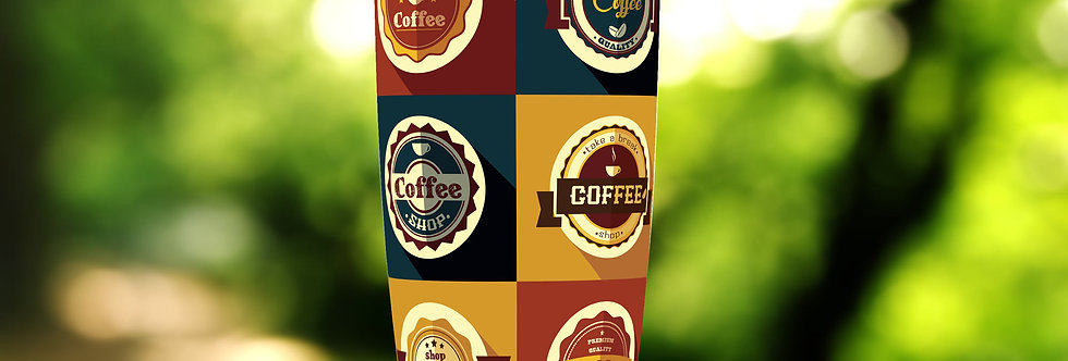 Coffee Badges 20oz Tumbler
