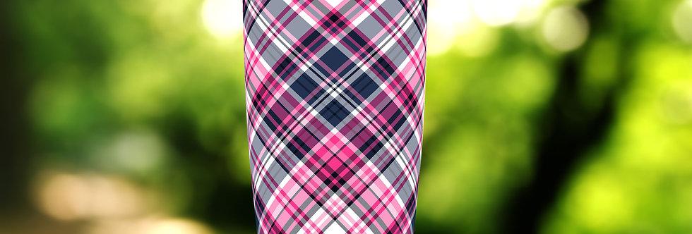 Pink Tartan Plaid 20oz Tumbler