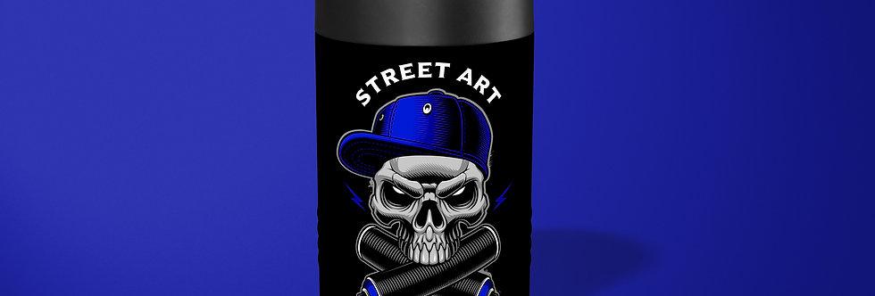Graffiti Skull Beer Can Holder