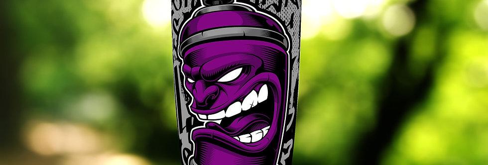 Graffiti Purple Can 20oz Tumbler