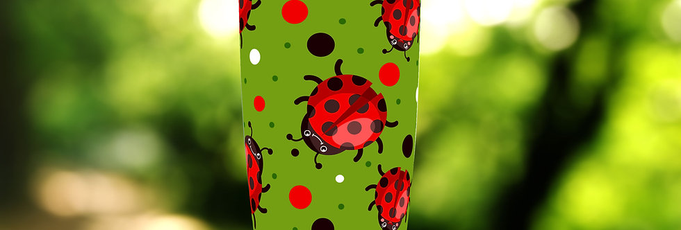 Ladybug Dots 20oz Tumbler
