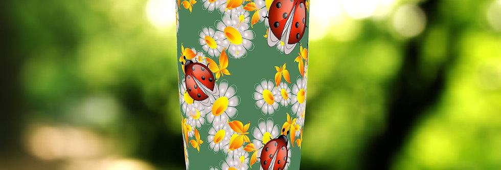 Ladybug Floral 20oz Tumbler