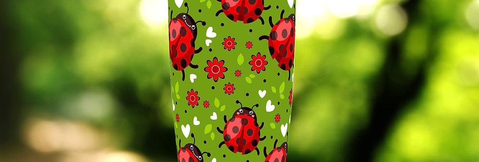 Ladybug Hearts 20oz Tumbler