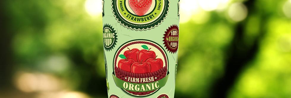 All Organic Badges 20oz Tumbler
