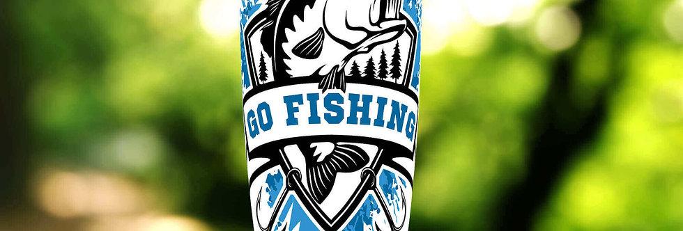Bass Fish 20oz Tumbler