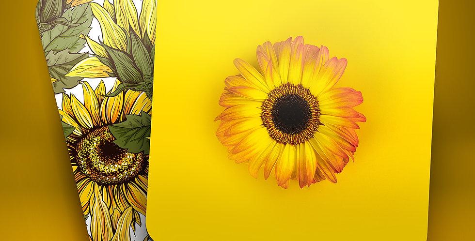 Sunflowers Drink Coasters (Set of 4)