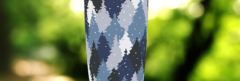 Camo Forest Blue 20oz Tumbler