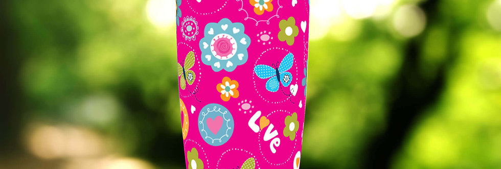 Love Butterflies 20oz Tumbler